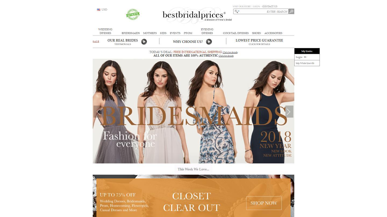bestbridalprices.com