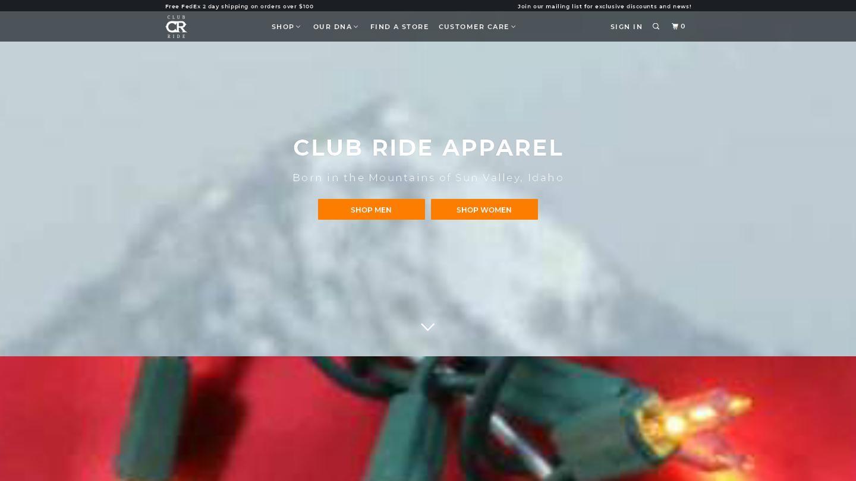 clubrideapparel.com
