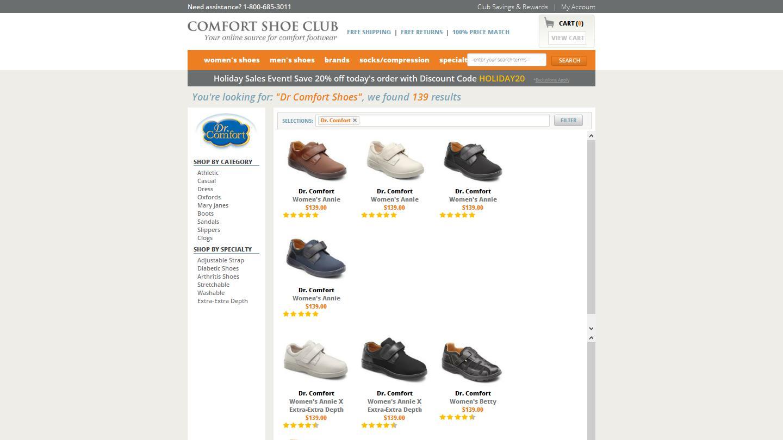 comfortshoeclub.com