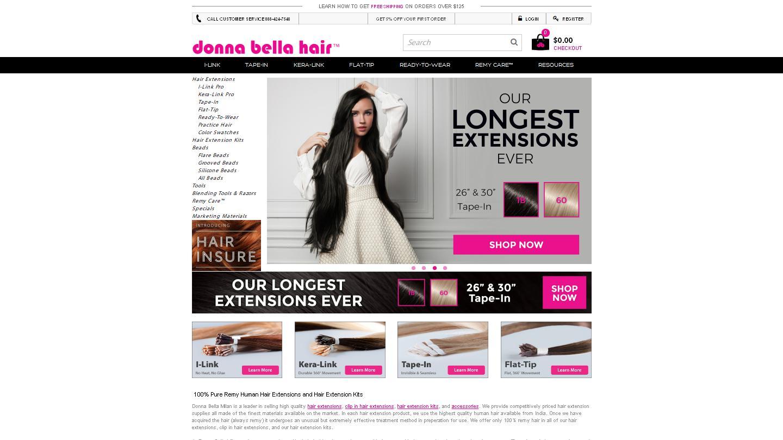 donnabellahair.com