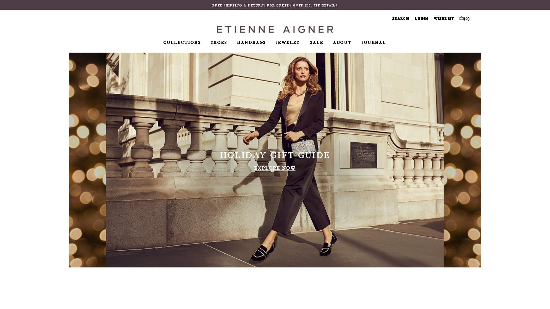 etienneaigner.com