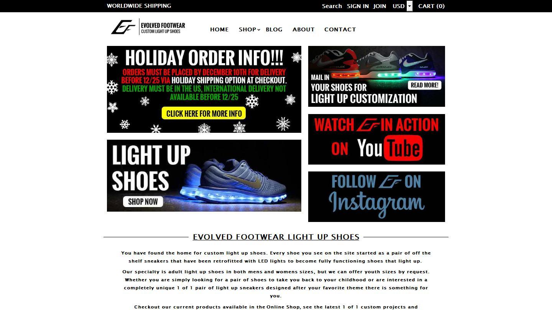 evolved-footwear.com