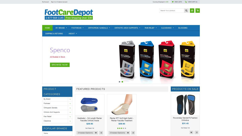 footcaredepot.com