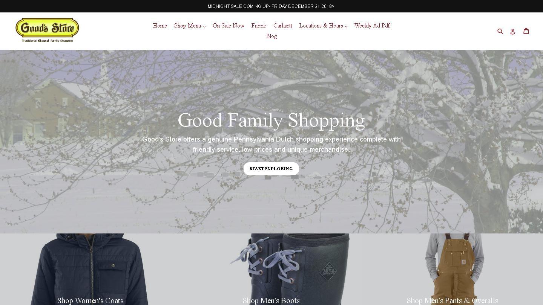 goodsstores.com