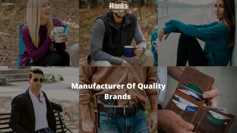 hanksclothing.com