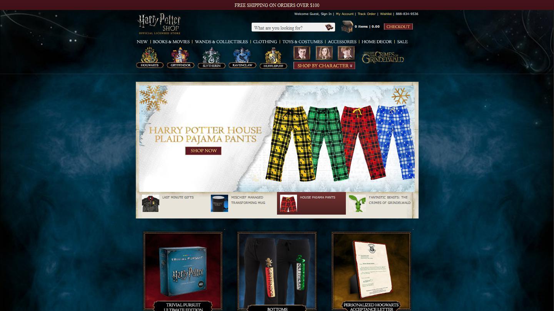 harrypottershop.com