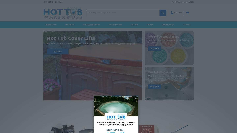 hottubwarehouse.com
