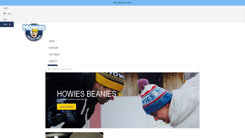 howieshockeytape.com