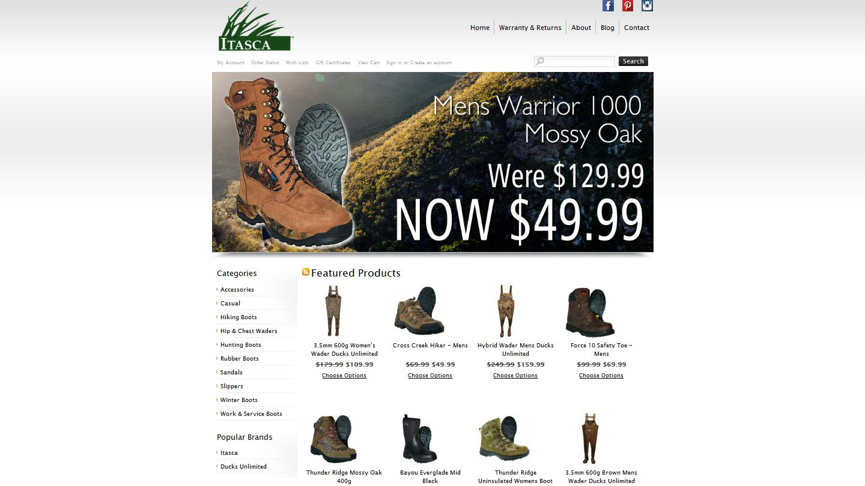 itascafootwear.com