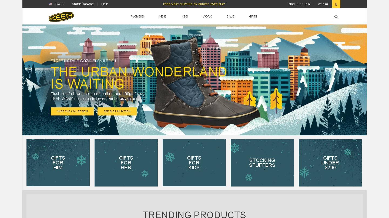 keenfootwear.com