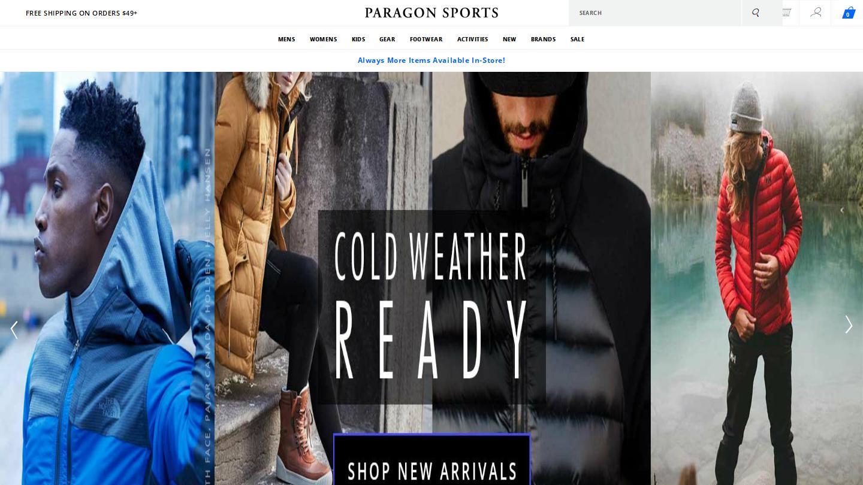 paragonsports.com