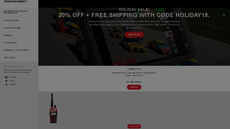racingelectronics.com