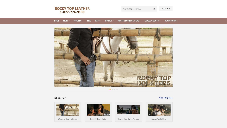 rockytopleather.com