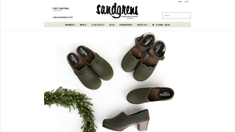 sandgrensclogs.com