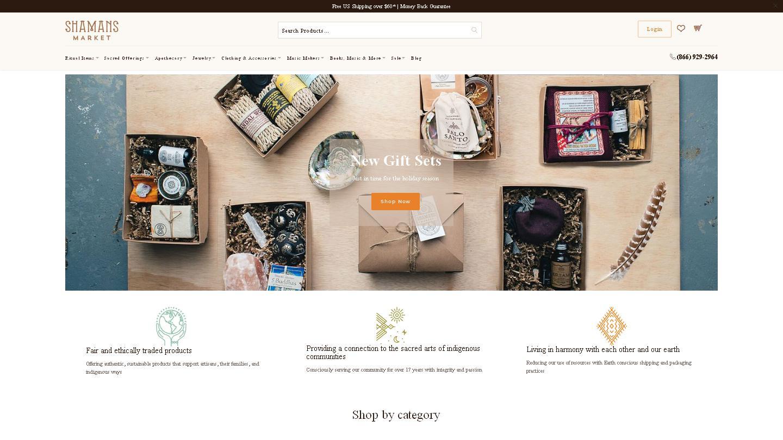 shamansmarket.com
