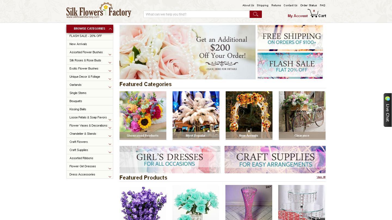 silkflowersfactory.com
