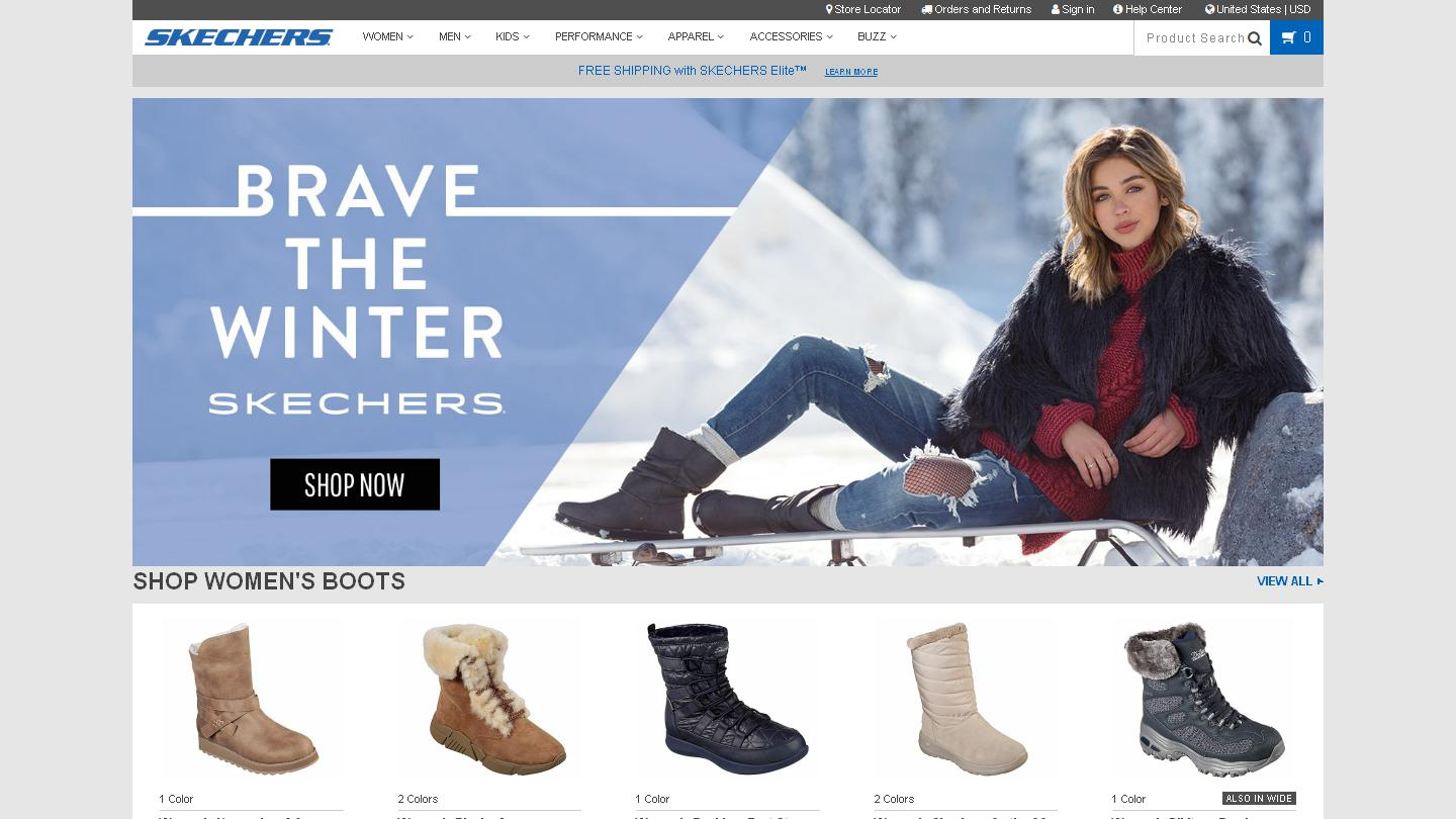 SKECHERS Official Site | Shop Shoes, Clothing, & Collections