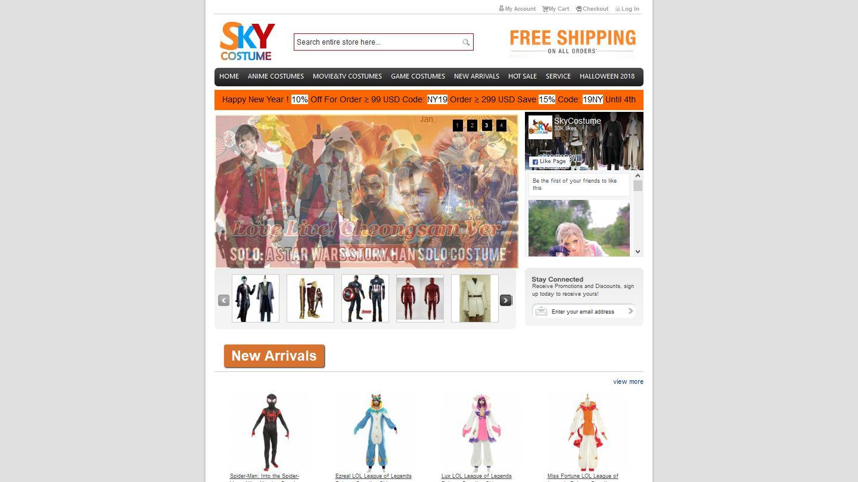 skycostume.com