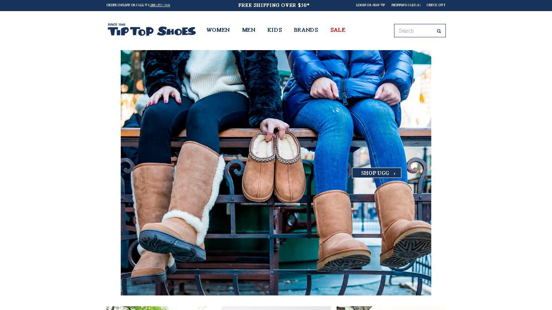 tiptopshoes.com