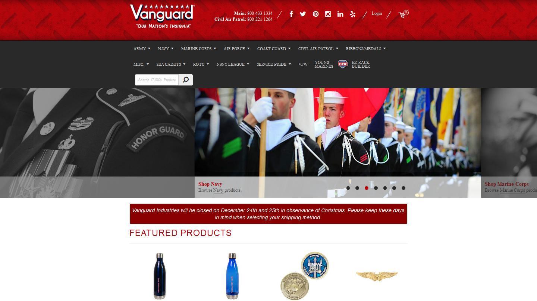 vanguardmil.com