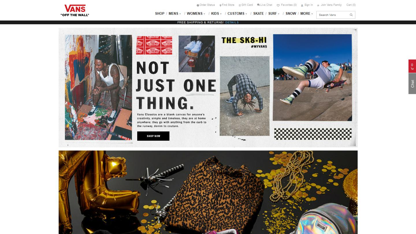 si puedes Optimista quemar  Vans® | Official Site | Free Shipping & Returns